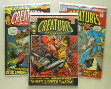 Creatures on the Loose #14 15 17 $49.00 LOT (1973) 7.0/6.5 GULLIVAR JONES Kirby!