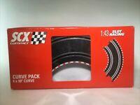 SCX 1:43 Compact Slot Car Curve Track