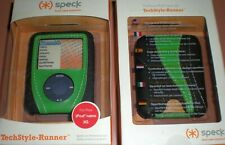 Speck TechStyle-Runner real leather case for iPod nano 3G with screen protector