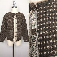Vintage 90s Woolrich Wool Cardigan Size Small