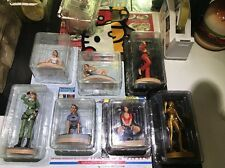 7 Figurines Neuves Tomb Raider Atlas Dont La Gold / 54,55,56,57,58,59 Et 60 !!!!