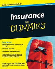 Insurance for Dummies, Hungelmann, Jack, Very Good, Paperback