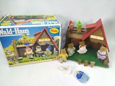 Simba Bären Familie Wald Haus Holz Hütte Zwerge OVP mit 6 Figuren Spielzeug