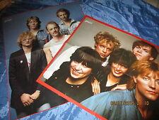 """Poster , NENA / SPLIFF , Rock / Pop  80er Jahre , """" Neue deutsche Welle """"/  O P"""