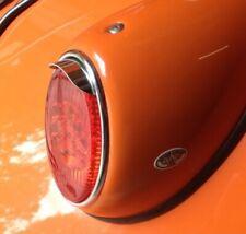 VW Beetle rear light peaks, oval, split, early bug