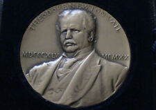 1920 Theodore Newton Vail Bronze Medal Medallic Art Co. Black Case