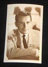 John Forsythe 1940's 1950's Actor's Penny Arcade Photo Card