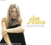 JOSS STONE - Right To Be Wrong (UK 2 Track CD Single)
