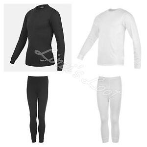 Kids Unisex Boys Girls Campri Thermal Ski Base Layers~Top Tights Leggings 2-13yr
