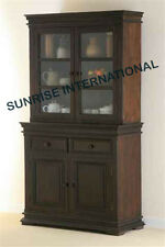 Contemporary design Wooden Glass Cabinet / Kitchen Crockery Unit !