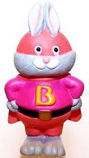 1993 Hallmark Super Hero Bunny in Pink New Merry Miniature Halloween Qfm8422