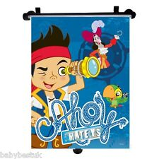 Jake and Neverland Pirates Car Window UV Protection Roller Blind Sun Shade - 1pc