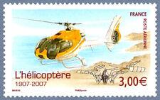 Timbre Poste Aérienne PA70 Neuf** - Centenaire de l'hélicoptère - 2007