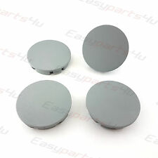 4x Centre Caps for ALLOY WHEEL HUB 56 - 52mm RENAULT TOYOTA Grey Matte