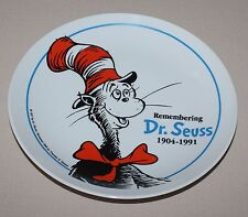 Remembering Dr Seuss Collector Plate 1904 1991 Theodor Geisel Cat in the Hat