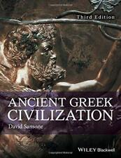 Griego Antiguo Civilization por Sansone, David Libro De Bolsillo 9781119098157