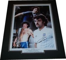 John Wark - Ipswich Town Signed Montage Photo Mounted