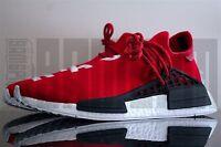 Adidas HU NMD PHARRELL WILLIAMS 5 6 7 8 9 10 11 12 SCARLET RED HUMAN RACE yeezy