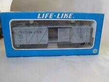 1977 Life-Like HO Scale Electric Wood Braced Virginian Box Train Car #08518 NIB
