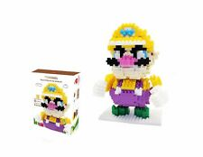 CHAKRA Game Super Mario Wario Figure -Nano Block Toy (580pcs)
