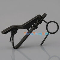 5pcs Mic Lapel Tie Clip for Lavalier Sennheiser ME2 Replacement Clips Black