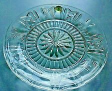 Beautiful Toast Plate By Waterford Crystal W Original Tags