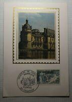 Chateau De Chantilly Premier Jour Sc # 1234 Maxi Card Postcard