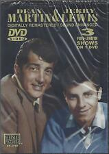 DEAN MARTIN  & JERRY LEWIS 3 FULL-LENGTH SHOWS ON 1 DVD    NEW DVD