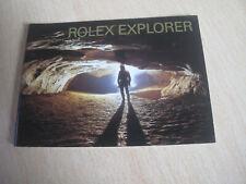 Genuine ROLEX EXPLORER Booklet (English).114270, 16570,   Year 2004