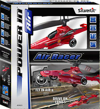 SilverLit Air Racer 3-Channel Remote Control Helicopter Car (Colour Varies)