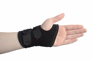 Universal Breathable Wrist Brace Support Adjustable Wrap Sprain Strain Gym RSI