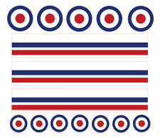 MOD, RAF, Mountain Bike/Bicycle, Toy Car Stripes Frame Stickers