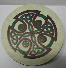 "IRELAND Irish MUSIC 8"" CAREW CROSS IRELAND Waltons Bodhran Drum Beater 2 Items"
