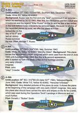Print Scale Decals 1/72 NORTH AMERICAN A-36A APACHE Ground Attack Aircraft