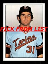 1975 SSPC #211-420 EX/EX-MT Pick From List All PICTURED