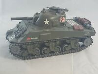 Diecast - Vintage Solido Military Tank Sherman M4 A3 Small Scale