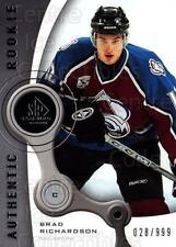 2005-06 Sp Game Used #202 Brad Richardson