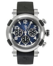 Romain Jerome Arraw Marine Blue Dial Titanium Automatic Men's Watch 1M45C.TTTR.3
