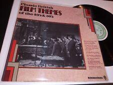"New listing Classic British Film Themes of the 40's & 30's [EX+/NM 12"" vinyl LP record] Mono"