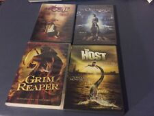 4 Horror DVDs Grim Reaper,The Orphanage,The Host,The Cell 2 - Halloween Scary