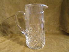 pichet canette cristal de saint louis Chantilly (crystal soft drink pitcher)