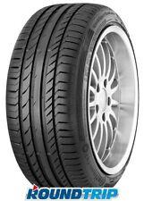 4x Summer Tyres Continental Sport Contact 5 AO XL 225/35 R18 87w