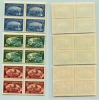 Russia USSR 1958 SC 2116-2118 Z 2159-2161 MNH pairs . e3325
