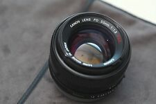 Canon FD 55mm f/1.2 S.S.C Lens for F-1,AE-1,Mirrorless Camera