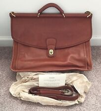 New Sony Mobile ES Branded Coach Leather Briefcase