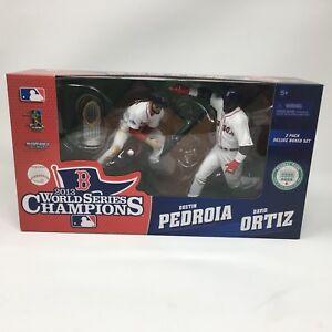 McFarlane Toys 2013 Boston Red Sox World Series DUSTIN PEDROIA DAVID ORTIZ!!!!!!
