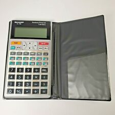 New ListingSharp El-738 Business Financial Calculator w/ Cover - Tested and working
