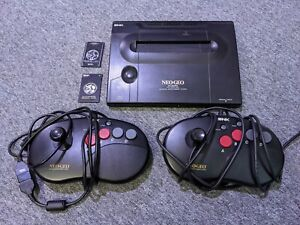 SNK Neo Geo AES Japanese Console with Unibios
