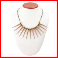Spiked Celebrity Style Hot Fashion Necklace Popular Design Gold Rose Tone Spiky
