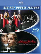 Dark Shadows/Sleepy Hollow (Blu-ray Disc, 2013, 2-Disc Set)  Johnny Depp